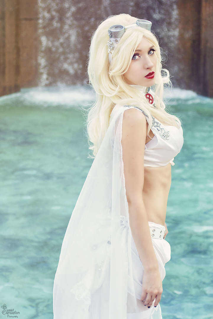 Steampunk Emma Frost I by EnchantedCupcake