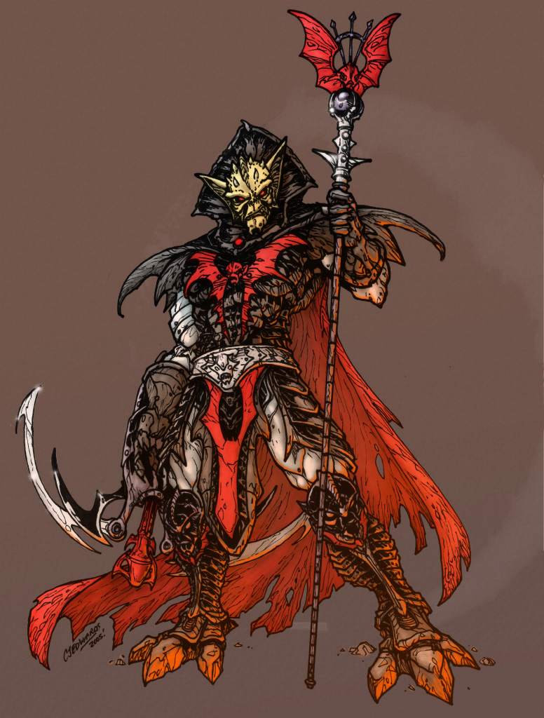 Bearshow Hordak Colors by Myko-- on DeviantArt