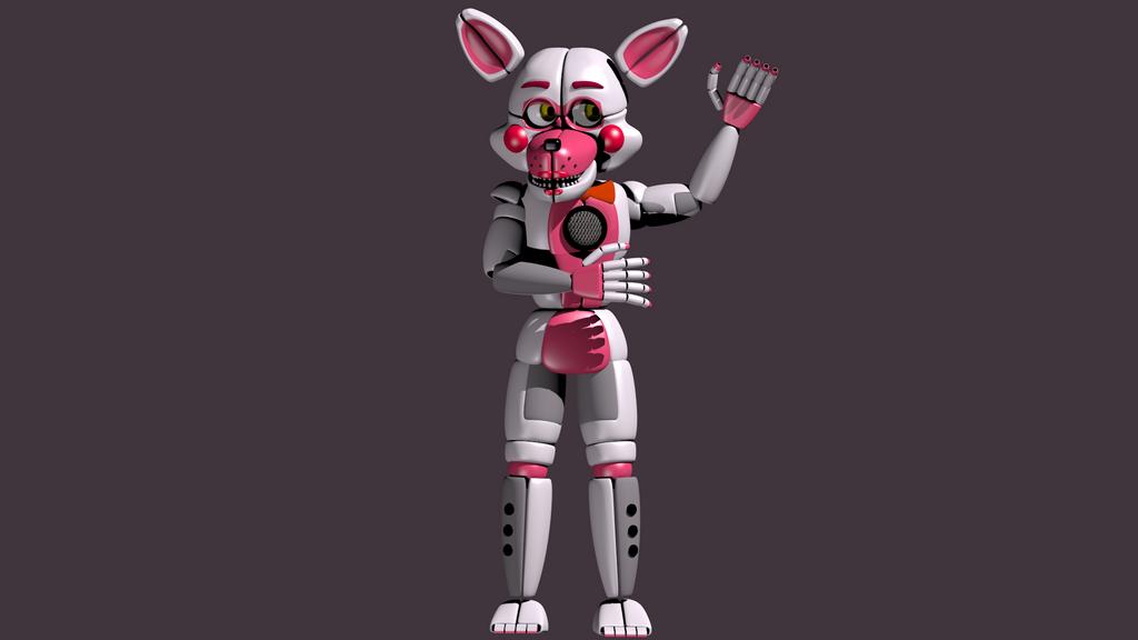 Funtime Foxy Body Bantranic Deviantart