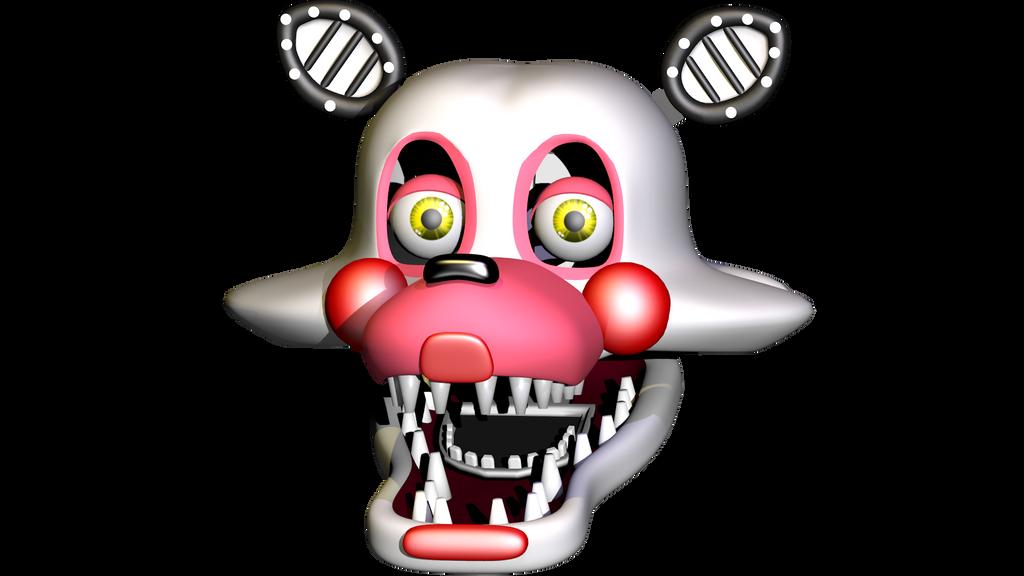 Mangle/Toy Foxy/Funtime Foxy/IDK V2 By Bantranic On DeviantArt