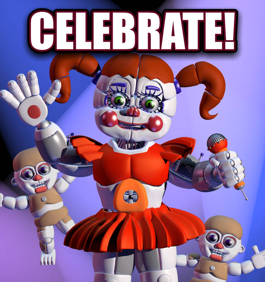 Circus Baby Poster by Bantranic on DeviantArt