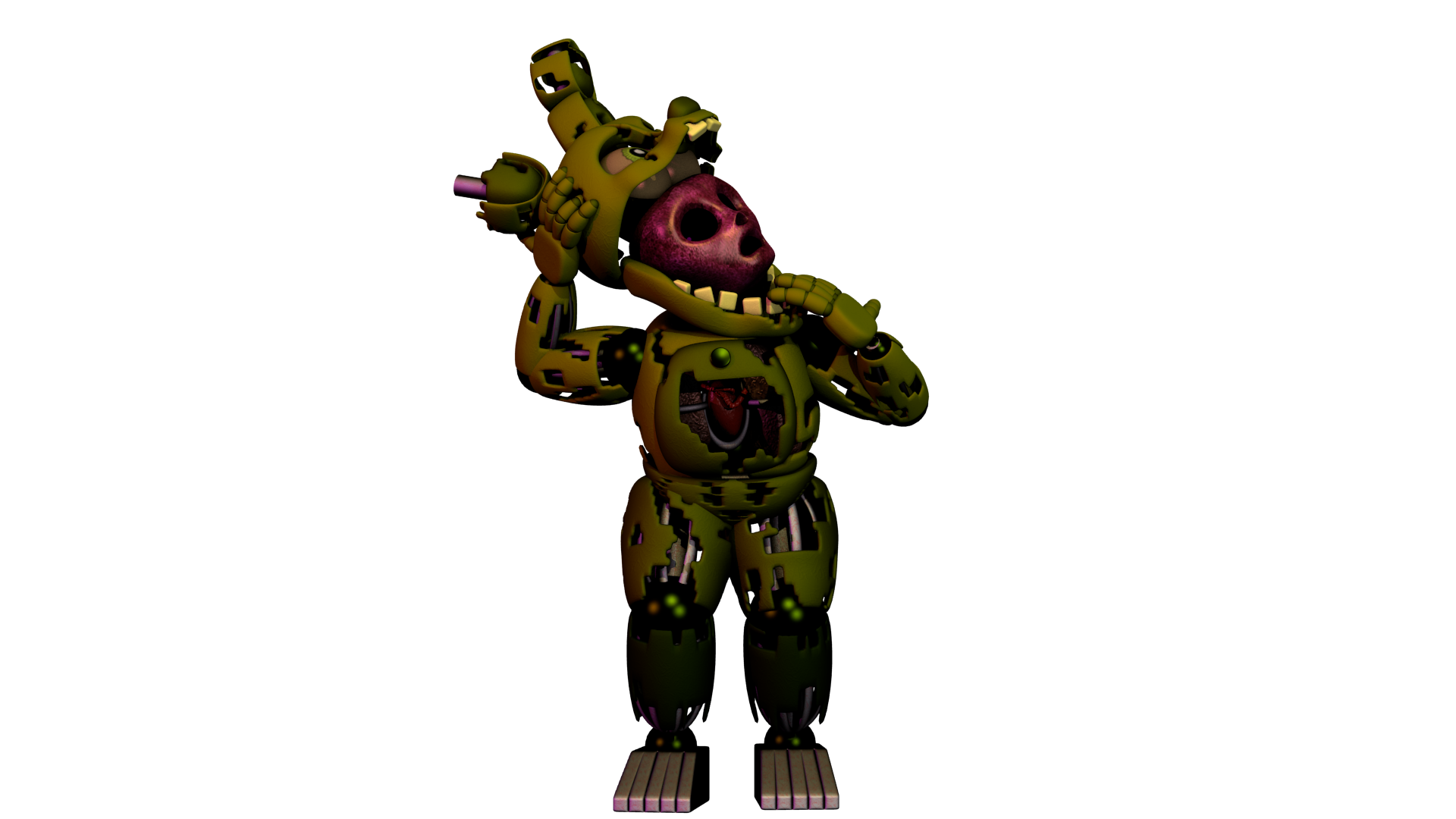 Stylised Springtrap by Bantranic