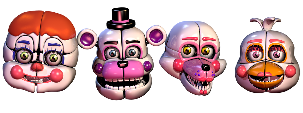 Funtime animatronics and circus baby by Bantranic
