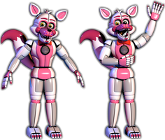 Funtime Foxy V6 Completed by Bantranic