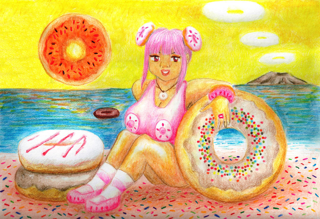 Donut Lady by Rufina-Tomoyo
