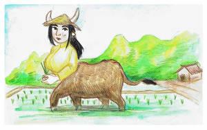 Water buffalo centauride