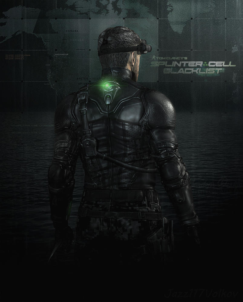splinter cell blacklist poster by jazz117volkov on deviantart