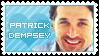 Patrick Dempsey Stamp by Lizziey