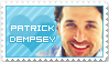 Patrick Dempsey Stamp by Lizziey