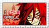 Grell Sutcliffe Stamp by Lizziey