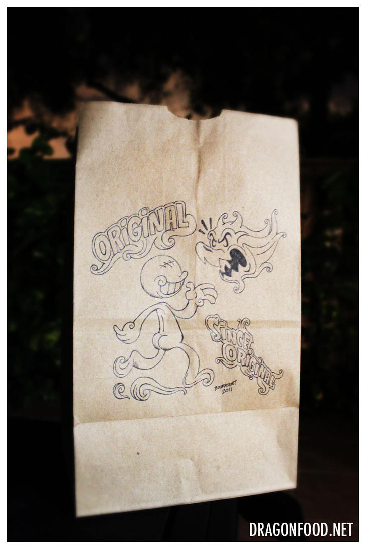 Dragon Food - Since Original bag by motion-attack