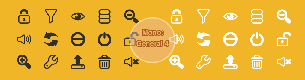 Mono: Office General 4 by customicondesign