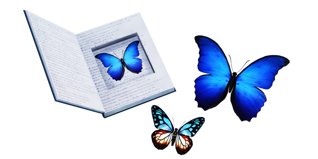 MMD - Butterflies DL by GoblinZeppelin