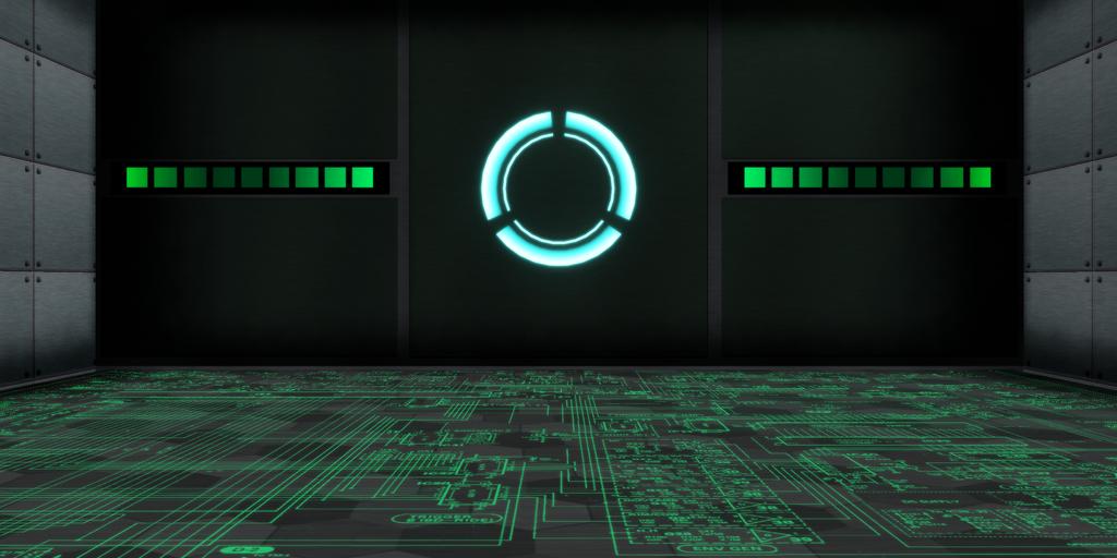 MMD - Cyber Thunder Cider Stage DL by GoblinZeppelin