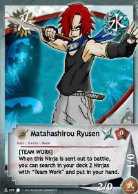 Matahashirou Ryusen KNG deck by narutop
