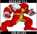 Marvel Heroes: Colossus by GEEKINELL