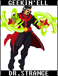 Marvel Heroes: Dr. Strange by GEEKINELL