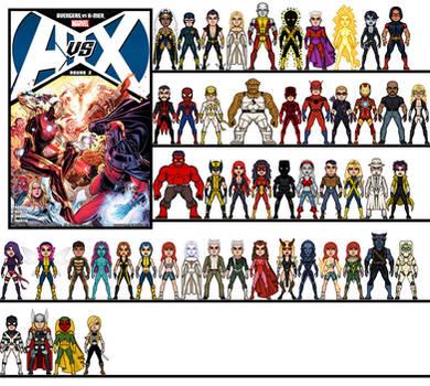 Micro Heroes: Avengers vs X-Men Round 2
