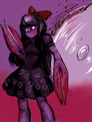 They Bleed Pixels Doodle by Hikxie