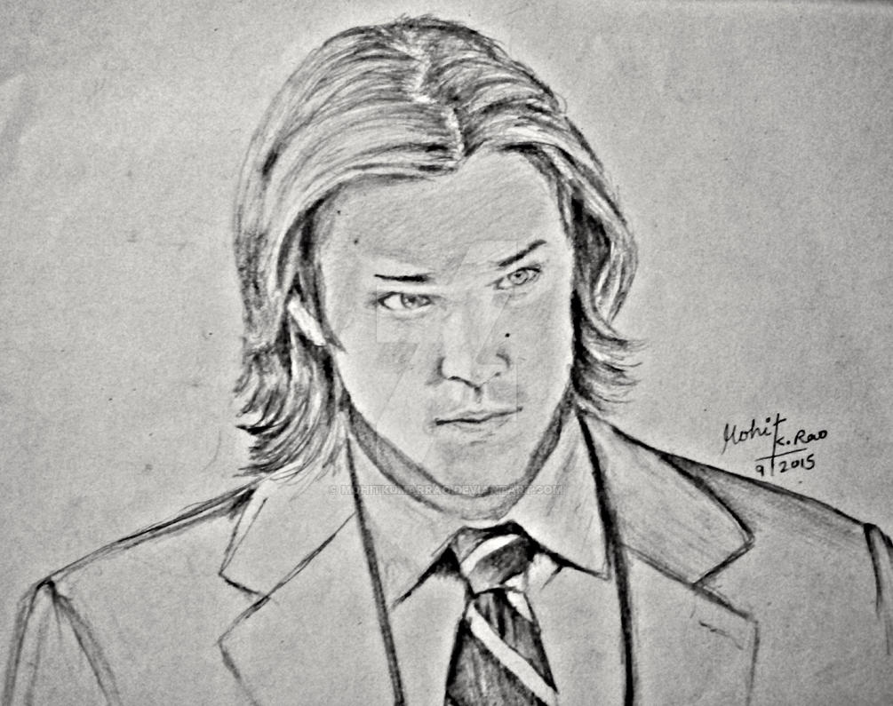 Jared Tristan Padalecki drawing by Mohit Kumar Rao by mohitkumarrao