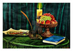 still life painting by mohit kumar rao