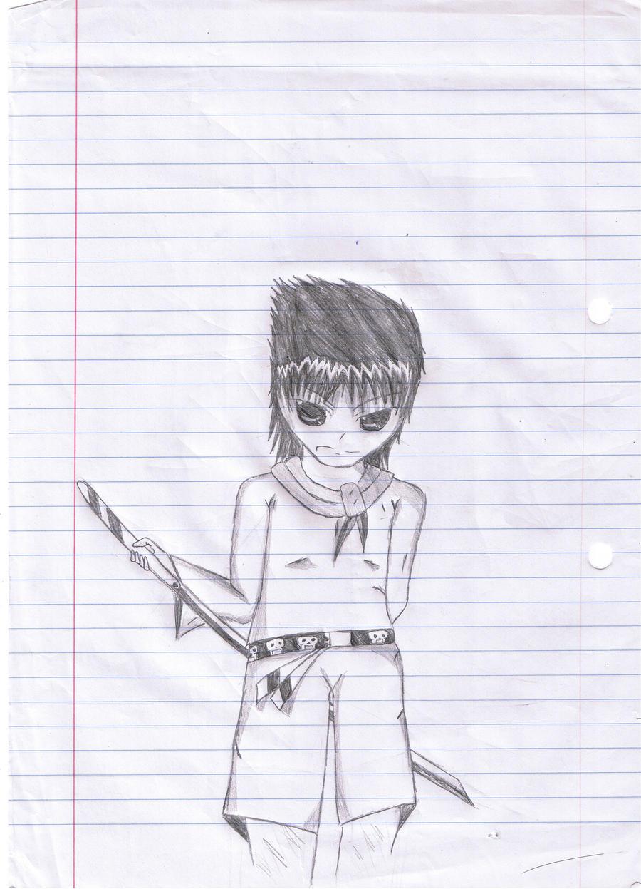 Anime Cool Sword Boy By Thekm1994 On Deviantart