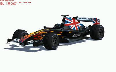 Union jack formula 1 by DetonatorLoki