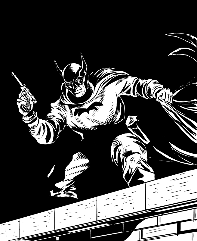 1939 Batman by quillcrow