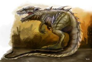 Kaiju Gorosaurus by FutureAesthetic