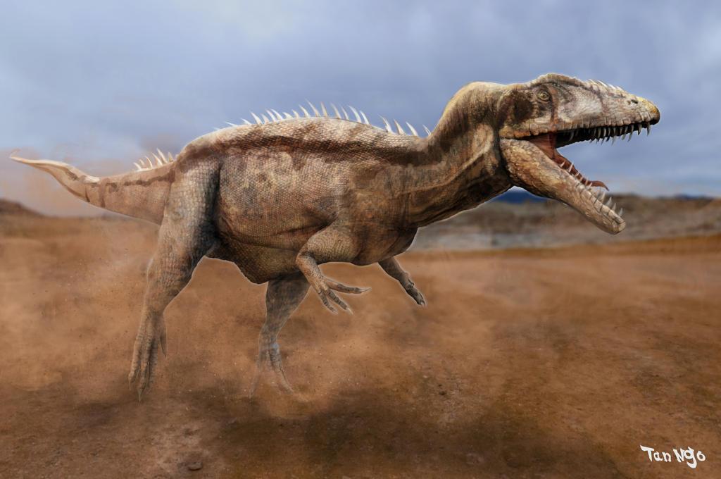 Charcarodontosaurus Saharicus by FutureAesthetic