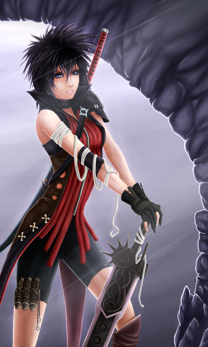 Katana color by Dark-nyghtmare