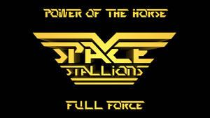 Space Stallions - Logo Background