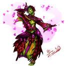 Dancing Sylvari