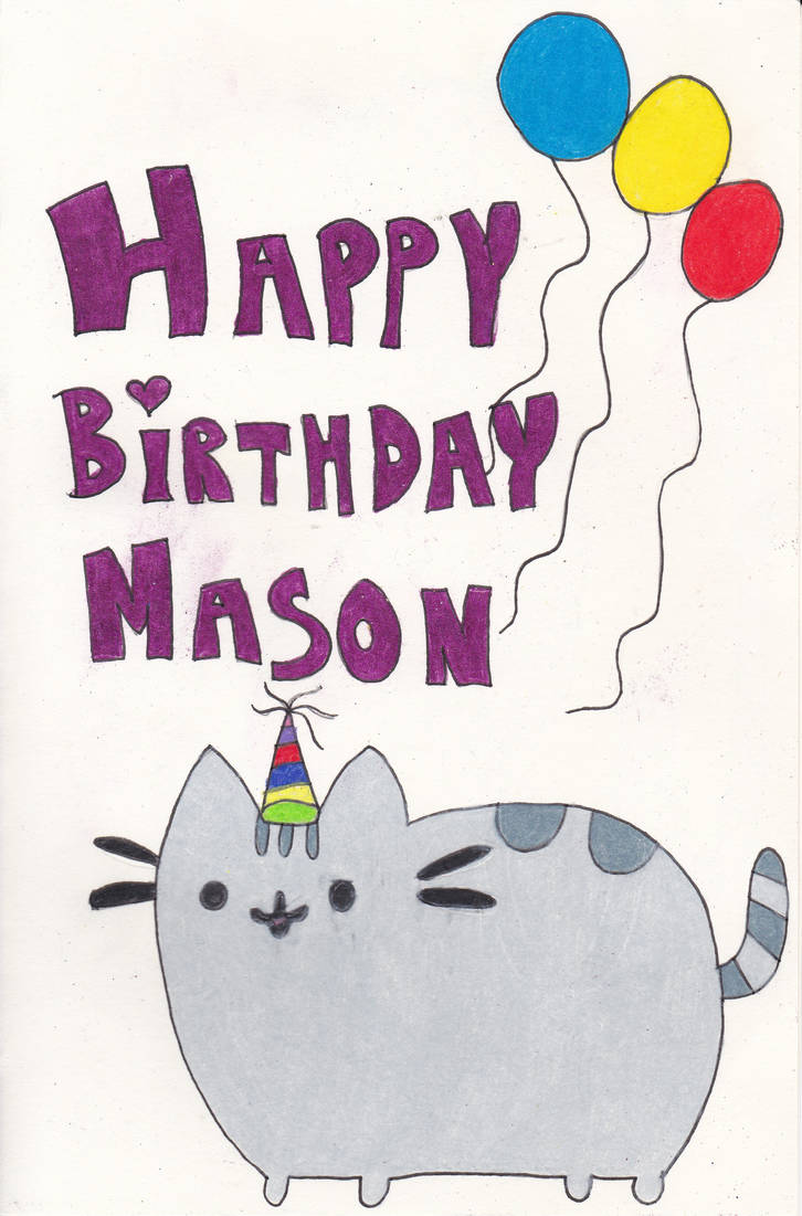 My Nephews Birthday Card By Suzuka11