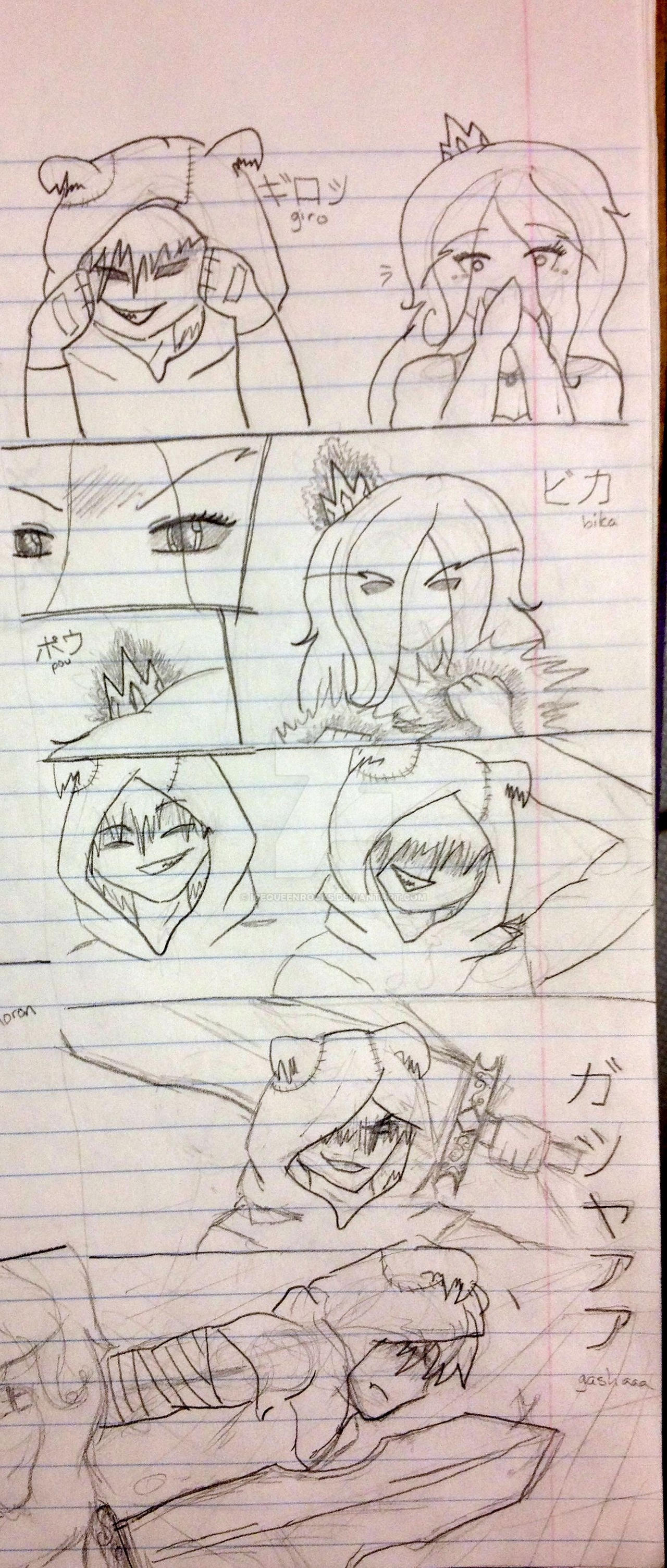 Black Ice, an AdventureTime FanComic page 4 by IceQueenRocks