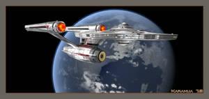 USS Kongo Test by karanua