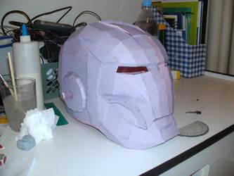 iron man helmet pepakura by Cyber-Hand