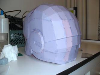 iron man helmet pepakura 3 by Cyber-Hand