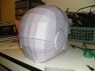 iron man helmet pepakura 4 by Cyber-Hand