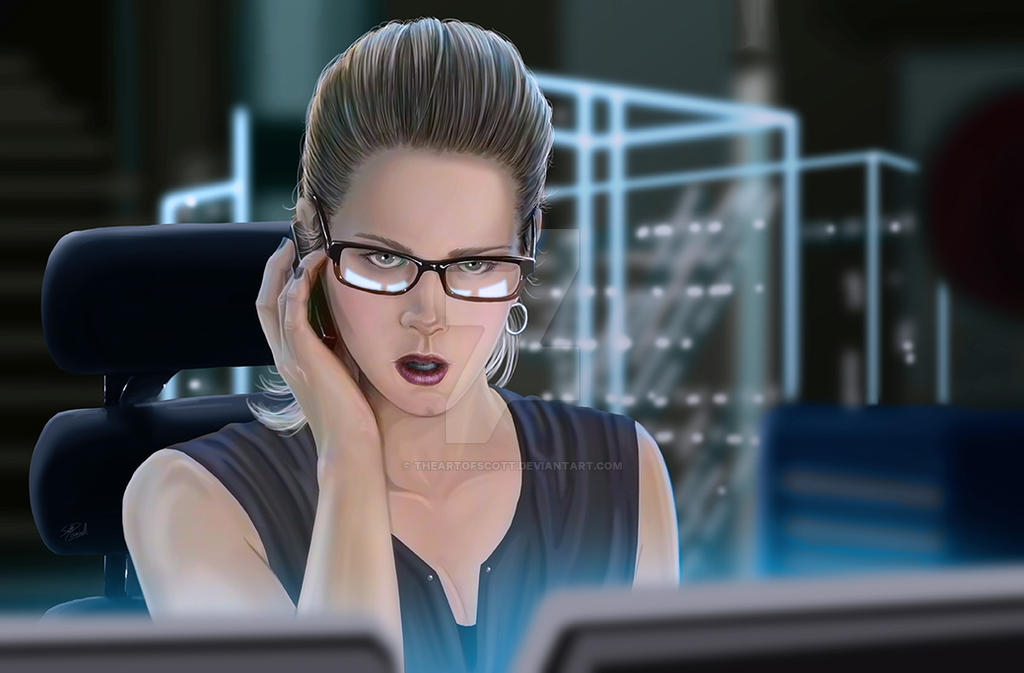 Arrow: Felicity Smoak by TheArtofScott