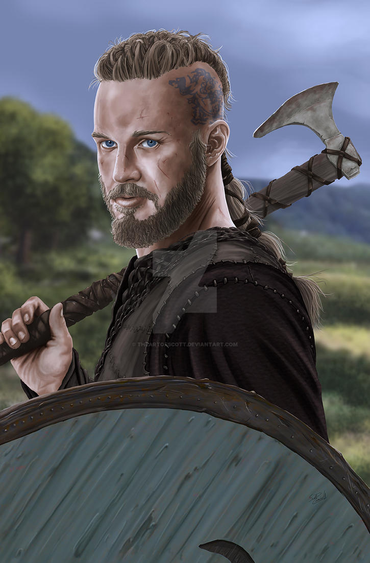 Vikings Ragnar by TheArtofScott