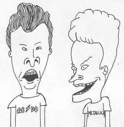 Beavis And Butthead Color Pages