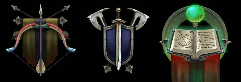 Game Class Icons