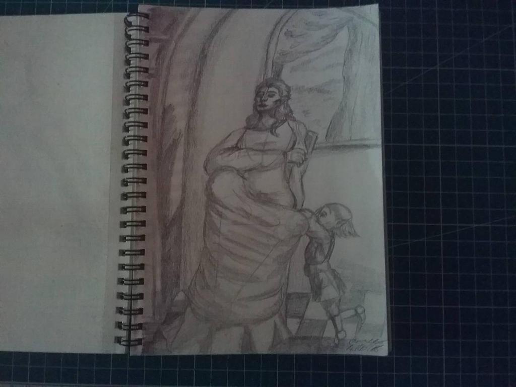 Traditional Sketchbook Nana by HannaEsser