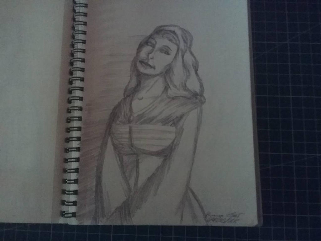 Traditional Sketchbook Flamish Study by HannaEsser