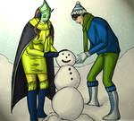 [Request] Building a Snowman by HannaEsser