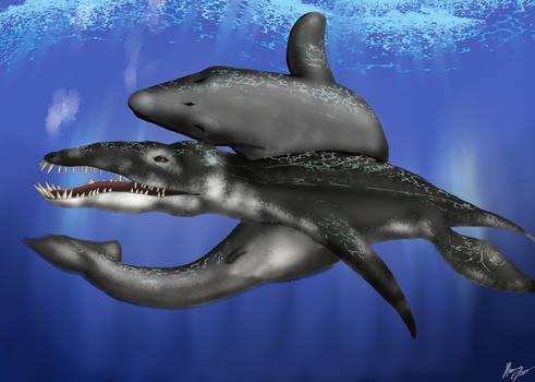 [Request] Basilosaurus x Liopleurodon