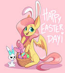 Fluttershy Easter Day