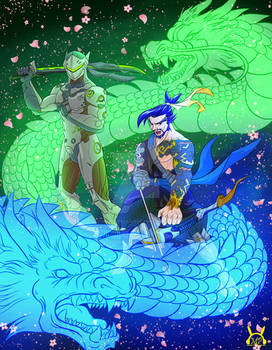 Overwatch Dragon Brothers