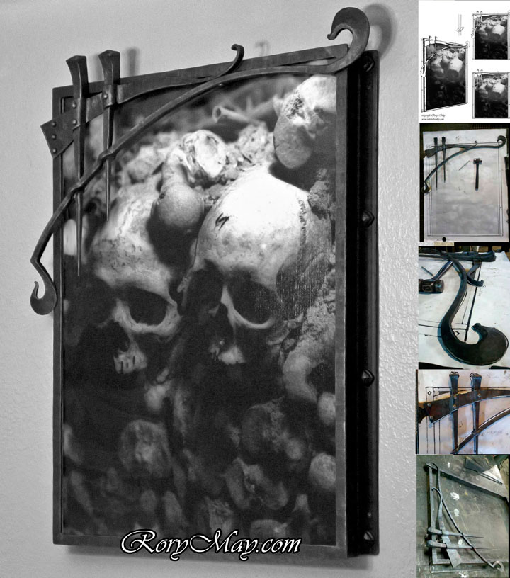 Catacombs picture frame by isolatedreality
